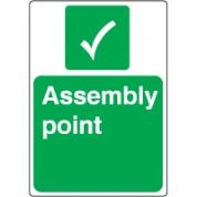 Safe Safety Sign - Assembly Point 041